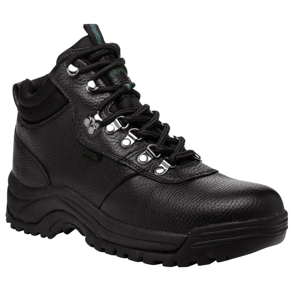 MENS PROPET CLIFF WALKER BOOTS, BLACK, 11.5 11.5 BLACK, X (3E), NIB 1a34a1