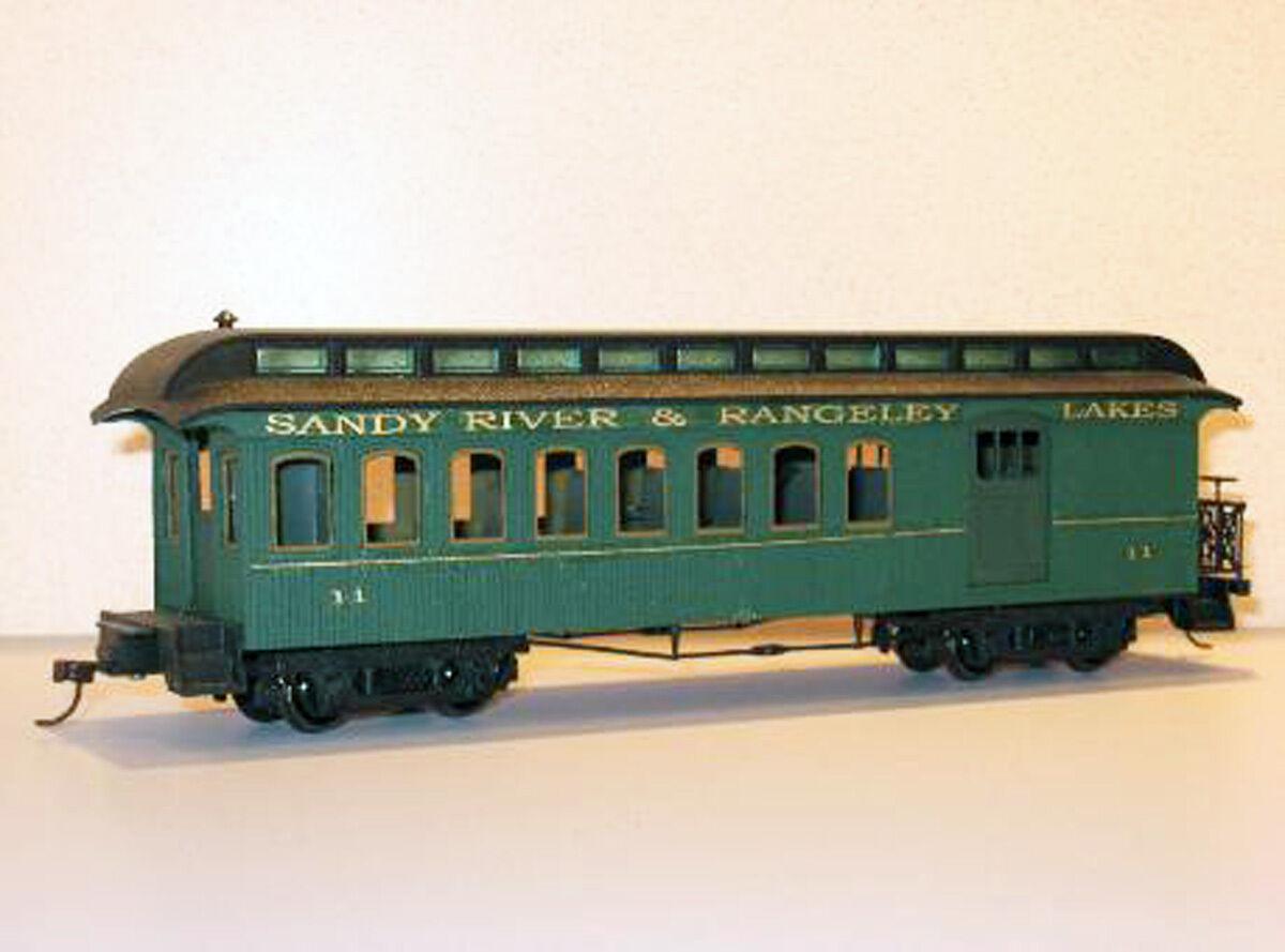 1884 36' LACONIA ARCH WINDOW COMBINE Model Railroad On30 Laser Unptd Kit DFM01