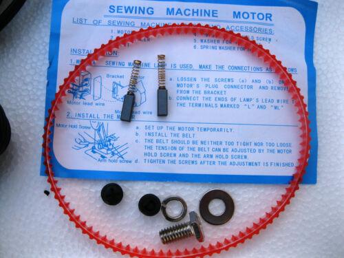 .9  AMPS HOME SEWING MACHINE MOTOR /& PEDAL SINGER HA1 15 66 99K