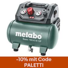 Metabo Kompressor Basic 160-6 W OF ölfrei Druckluft kompakt handlich 6 L 8 bar
