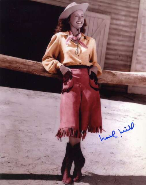 NOEL NEILL PSA DNA Coa Hand Signed 8x10 Photo Autograph Authentic