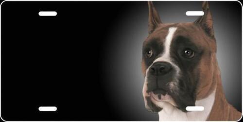 Personalized FREE Custom License Plate Frame Dog Doberman Auto Tag