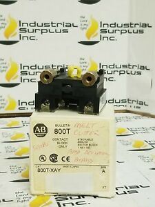 Allen-Bradley-Switch-Block-800T-XAY-FREE-SHIPPING
