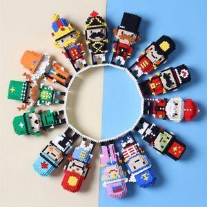 British Royal Guard- NUTCRACKER- CHAKRA Mini Blocks - Fun Toys - Best Gift - DIY
