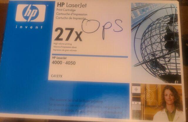 HP LaserJet Printer Cartridge 27X 4000-4050, Black