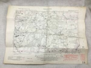 1938-Vintage-Map-Of-East-Sussex-Scaynes-Hill-Lyoth-Common