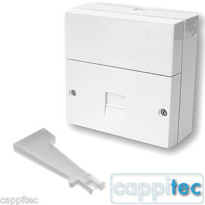 TELEPHONE-MASTER-SOCKET-BT-OPENREACH-TYPE-NTE5A-WITH-SCREW-TERMINALS