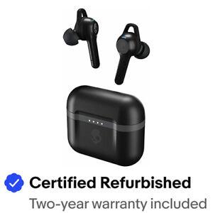 Skullcandy INDY XT EVO True Wireless Bluetooth Earbuds- Refurb- BLACK