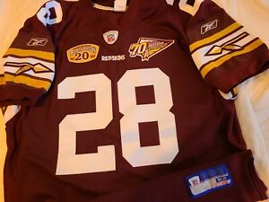 Details about Darrell Green 2002 Washington Redskins 20th Season 70th Authentic Jersey Size 52