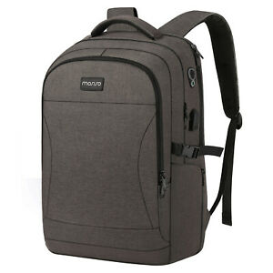 Business-Travel-Anti-Theft-Laptop-Backpack-15-6-17-3-inch-Bag-USB-Charge-Port