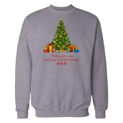 Mens Christmas Sweatshirt Novelty Xmas Snow Man Elf Print Sweater Pullover Top