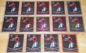 2012-Topps-Chrome-Rookie-Rainbow-Lot-Brock-Osweiler-Broncos-Dolphins-14-Cards