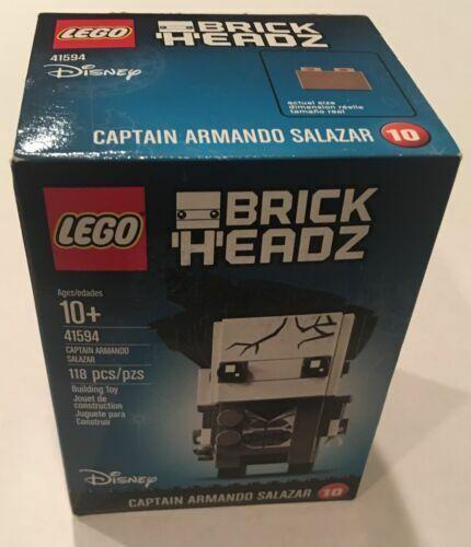 41596 Aquaman LEGO Beast 2017 Captain Armando Salazar 41594 41600 Lot of 3