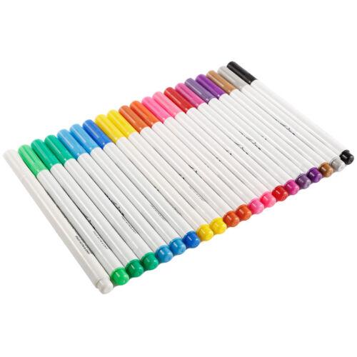20 x farbige Textilstifte Textilmarker Wäschemarker für Stoff Textilien
