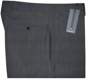 365-NWT-ZANELLA-NORDSTROM-DEVON-CHARCOAL-WINDOWPANE-DRESS-PANTS-40