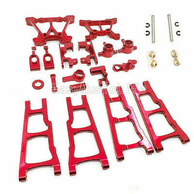 Red Upgraded Parts for 1//10 Traxxas Slash 5807 Stampede 4x4 Rustler 4X4 a-Arms