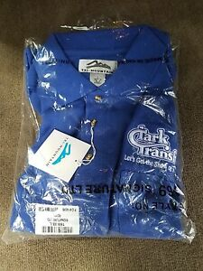 """NEW Clark Transfer """"Let's Get The Show On The Road"""" Shirt Sz L"""