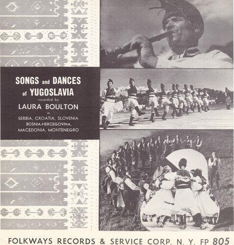 Various Artists - Songs Dances Yugoslavia / Various [New CD]