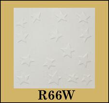 Tin-Look Styrofoam Ceiling Tiles Easy Installation - R66W