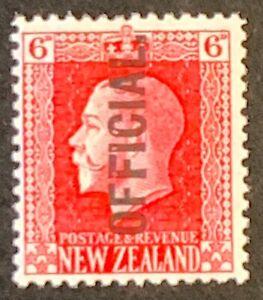 New-Zealand-Optd-OFFICIAL-Definitives-Mounted-Unused-AF92