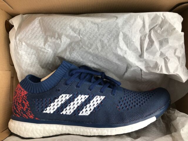 new arrivals 520ad d8322 NEW ADIDAS ADIZERO PRIME BOOST LTD KITH MYSTERY BLUE MAROON KITH Size 9.5