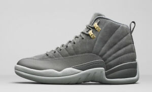 check out 424dc a6f40 Image is loading Air-Jordan-12-Retro-034-WOLF-GREY-034-