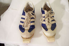Vintage Adidas Cross Country Ski Shoes Men 5.5 Made In France