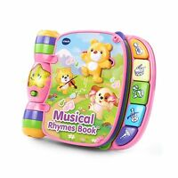 Vtech Musical Rhymes Book - Pink - Online Exclusive Free Shipping