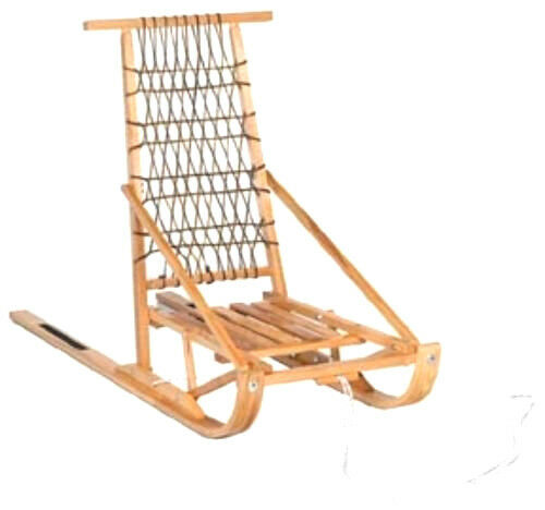 FOLDING WOODEN SNOW DOG SLED- FREE SHIPPING USA AND CANADA ***PRICE=CDA $***