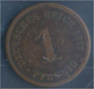 German-Empire-Jagerno-1-1887-D-very-fine-1-Pfennig-7849194