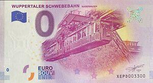 BILLET-0-EURO-WUPPERTALER-SCHWEBEBAHN-2017-NUMERO-3300