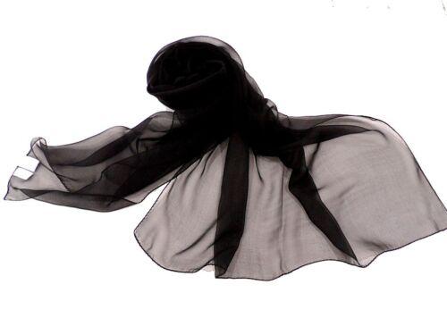 Sciarpa Donna Galitzine Stola Cerimonia 2317 Nero Made In Italy