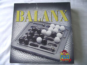 Balanx Fun Connection Vintage Abstract Stategy Board Game Retro