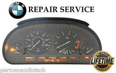 REPAIR SERVICE for BMW INSTRUMENT SPEEDOMETER CLUSTER E38