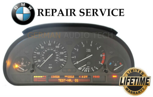 REPAIR SERVICE for BMW INSTRUMENT SPEEDOMETER CLUSTER E38 740 E39 525 530 540 M5
