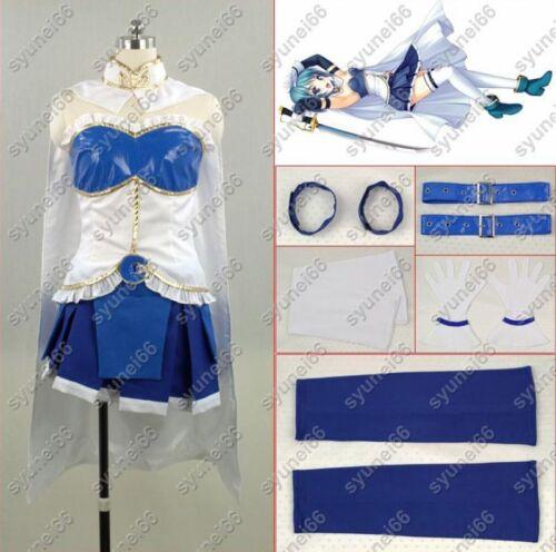 Puella Magi Madoka Magica Miki Sayaka Cosplay Costume Custom