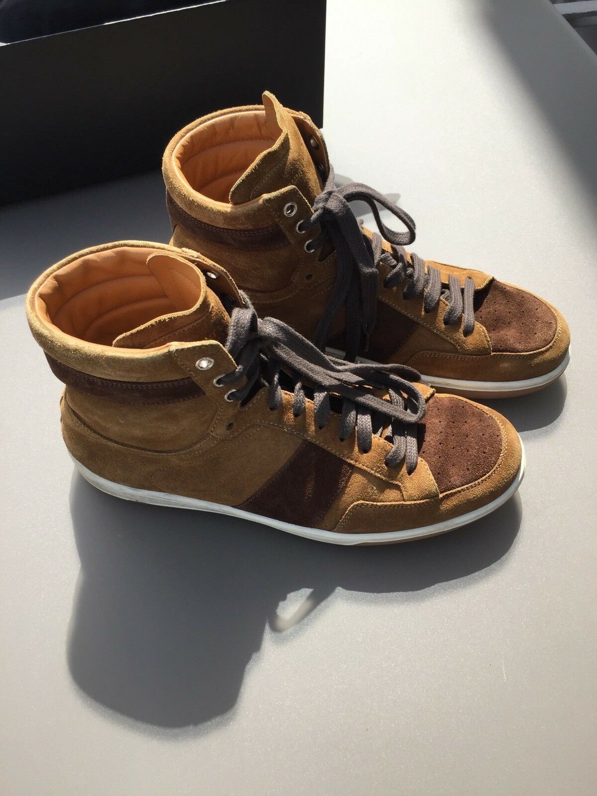High Top Sneaker von Saint Laurent