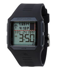 Rip Curl Rifles Midsize Tide A1124-BLK Black / Grey Silicone Digital Quartz Uni