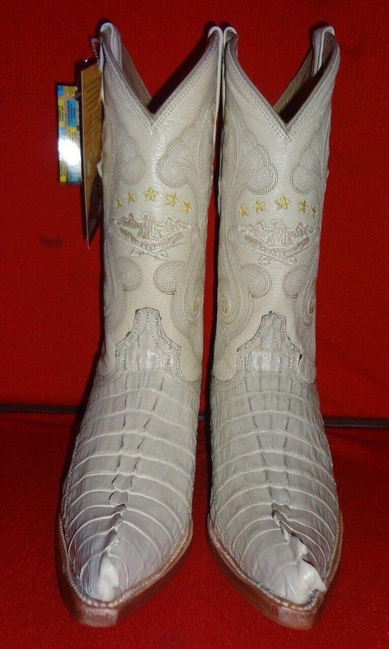 Exotic GENUINE  CAIMAN Western Cowboy Stiefel   (C71)