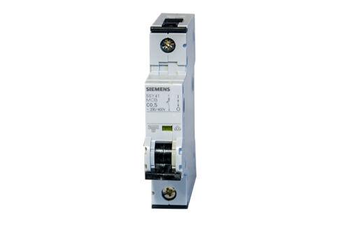 SIEMENS 5SY4105-7 Leitungsschutzschalter 230//400V 5SY41 MCB C0,5 NEW