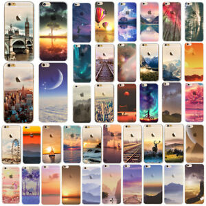 For-IPhone-7-8-PLUS-X-5-6-6S-Ultra-Thin-Soft-Silicone-Phone-Cover-Case-Back-Skin