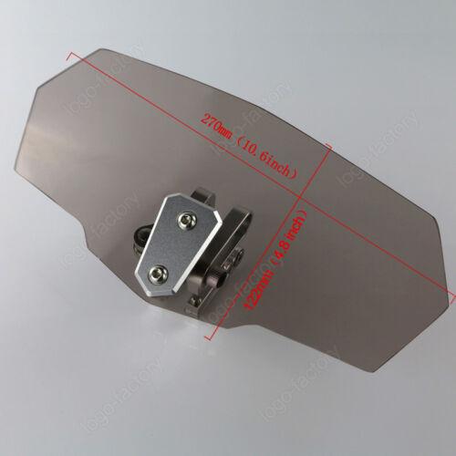 Airflow Adjustable Screen Bolt Variable Spoiler For Yamaha BT1100 Bulldog 02-06