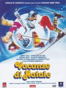 Dvd-Vacanze-di-Natale-1983-Jerry-Cala-039-Stefania-Sandrelli-Christian-De-Sica