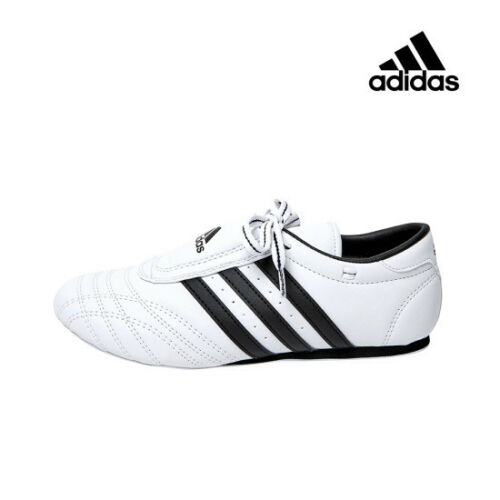 Adidas Korea SM-II TAEKONDO Martial Arts Karate MMA TKD White Shoes Size 4-13