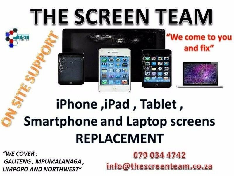iPad screens and tablet screens replacement at your door