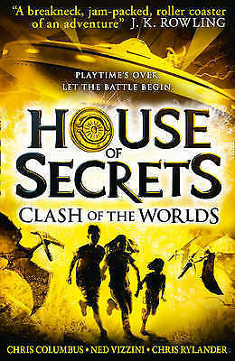 1 of 1 - House of Secrets: Clash of the Worlds by Chris Columbus, Ned Vizzini (PB, 2017)