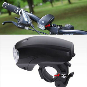 Cycling Bike Bicycle Super Bright 5 LED Front Head Light Lamp 3-Modes Torch UK