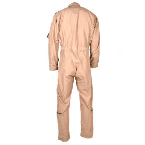 Genuine US army USAF CWU-27//P Flight Suit Coveralls Beige nomex fire resist