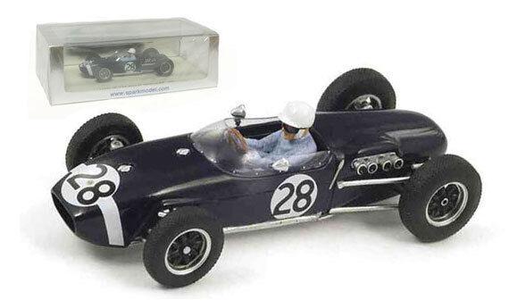 Spark s1839 Lotus 18   28 vainqueur gp monaco 1960-Stirling Moss, échelle 1 43,