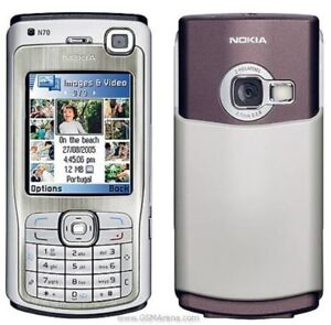 SIMPLE-NOKIA-N70-CHEAP-3G-SMARTMOBILE-PHONE-UNLOCKED-WITH-NEW-CHARGAR-amp-WARRANTY